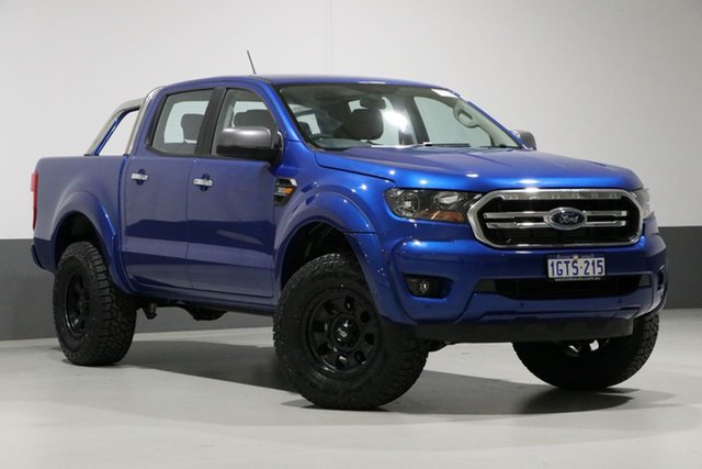 Used Ford Ranger PX MkIII MY19 XLS 3.2 (4x4), 2019 Ford Ranger PX MkIII MY19 XLS 3.2 (4x4) Blue 6 Speed Automatic Double Cab Pickup