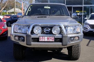 2016 Nissan Patrol Y61 GU 10 ST Silver 5 Speed Manual Wagon.