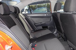 2012 Mitsubishi Lancer CJ MY13 LX Orange 5 Speed Manual Sedan