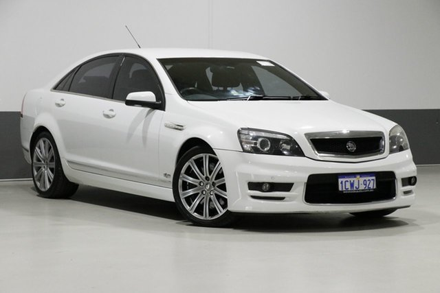 Used Holden Special Vehicles Grange WM MY08 Upgrade , 2008 Holden Special Vehicles Grange WM MY08 Upgrade White 6 Speed Auto Active Sequential Sedan