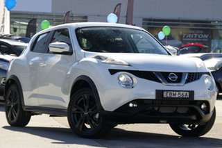 2018 Nissan Juke F15 MY18 TI-S (AWD) Ivory Pearl Continuous Variable Wagon.