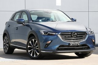 2021 Mazda CX-3 DK2W7A Akari SKYACTIV-Drive FWD Eternal Blue 6 Speed Sports Automatic Wagon.