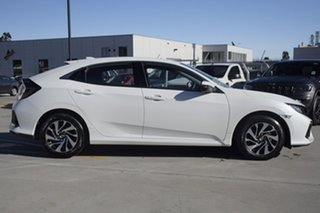 2019 Honda Civic 10th Gen MY19 VTi-S Platinum White 1 Speed Constant Variable Hatchback