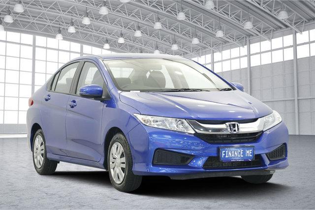 Used Honda City GM MY14 VTi, 2015 Honda City GM MY14 VTi Blue 1 Speed Constant Variable Sedan
