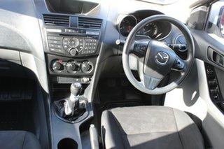 2015 Mazda BT-50 UP0YF1 XT 4x2 Hi-Rider White 6 Speed Manual Cab Chassis