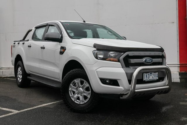 Used Ford Ranger PX MkII XLS Double Cab Special Edition, 2016 Ford Ranger PX MkII XLS Double Cab Special Edition White 6 Speed Sports Automatic Utility