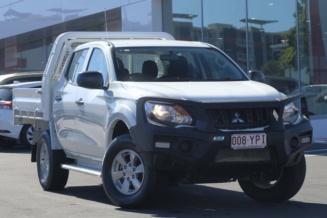 Used Mitsubishi Triton MQ MY17 GLX+ Double Cab, 2017 Mitsubishi Triton MQ MY17 GLX+ Double Cab White 5 Speed Sports Automatic Utility