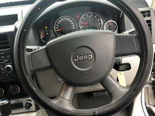 2008 Jeep Cherokee KK MY08 Sport Metallic Silver 4 Speed Automatic Wagon