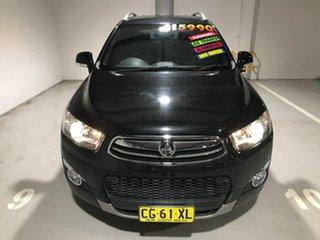 2013 Holden Captiva CG Series II MY12 7 AWD LX Black 6 Speed Sports Automatic Wagon.