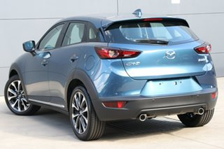 2019 Mazda CX-3 DK MY19 Akari (AWD) Eternal Blue 6 Speed Automatic Wagon.