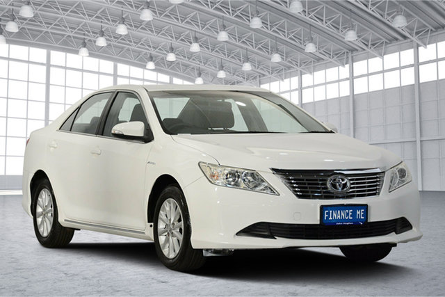 Used Toyota Aurion GSV50R AT-X, 2012 Toyota Aurion GSV50R AT-X White 6 Speed Sports Automatic Sedan