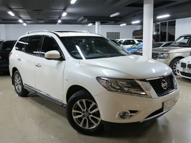 Used Nissan Pathfinder R52 Series II MY17 ST-L X-tronic 2WD, 2017 Nissan Pathfinder R52 Series II MY17 ST-L X-tronic 2WD White 1 Speed Constant Variable Wagon