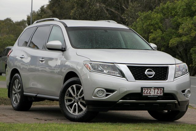 Used Nissan Pathfinder R52 MY14 ST X-tronic 2WD, 2013 Nissan Pathfinder R52 MY14 ST X-tronic 2WD Silver 1 Speed Constant Variable Wagon