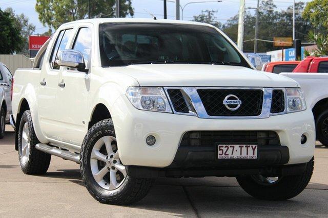 Used Nissan Navara D40 S5 MY12 ST-X 550, 2013 Nissan Navara D40 S5 MY12 ST-X 550 White 7 Speed Sports Automatic Utility