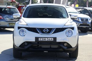 2018 Nissan Juke F15 MY18 TI-S (AWD) Ivory Pearl Continuous Variable Wagon