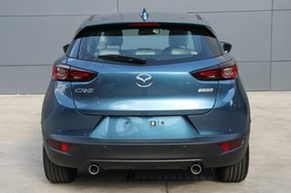 2021 Mazda CX-3 DK2W7A Akari SKYACTIV-Drive FWD Eternal Blue 6 Speed Sports Automatic Wagon