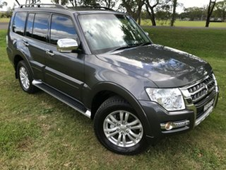 2017 Mitsubishi Pajero NX MY17 GLX LWB (4x4) Grey 5 Speed Auto Sports Mode Wagon.