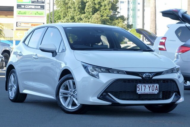 Used Toyota Corolla Mzea12R Ascent Sport, 2018 Toyota Corolla Mzea12R Ascent Sport Pearl White 10 Speed Constant Variable Hatchback