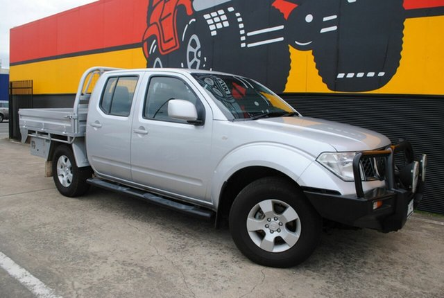 Used Nissan Navara D40 ST, 2010 Nissan Navara D40 ST Clean Silver 6 Speed Manual Utility