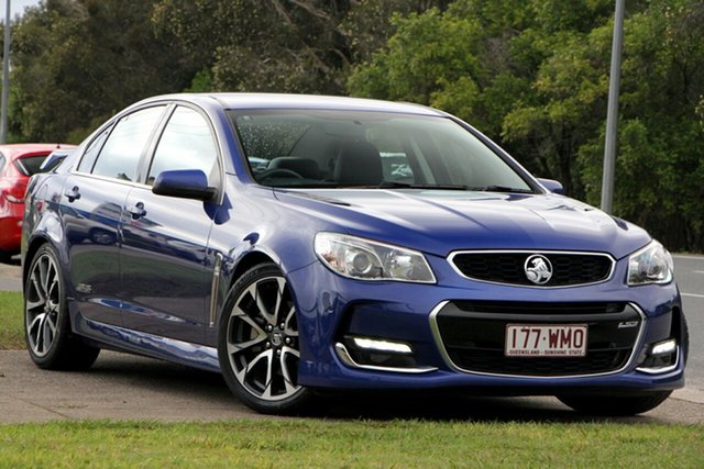 Used Holden Commodore VF II MY16 SS V, 2015 Holden Commodore VF II MY16 SS V Blue 6 Speed Sports Automatic Sedan