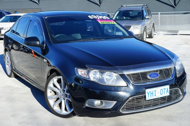 Used Ford Falcon FG G6, 2010 Ford Falcon FG G6 Black 6 Speed Sports Automatic Sedan