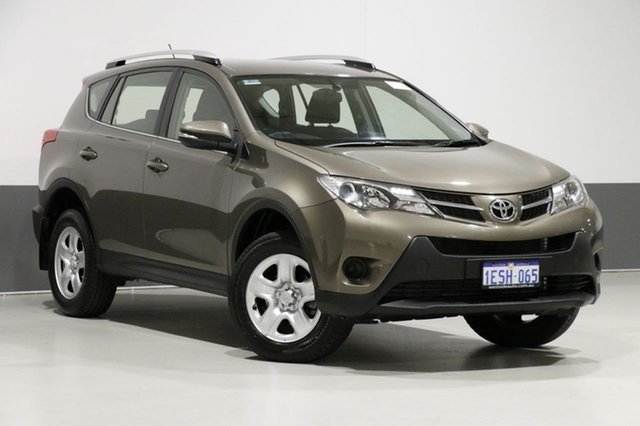 Used Toyota RAV4 ZSA42R MY14 Upgrade GX (2WD), 2015 Toyota RAV4 ZSA42R MY14 Upgrade GX (2WD) Bronze Continuous Variable Wagon
