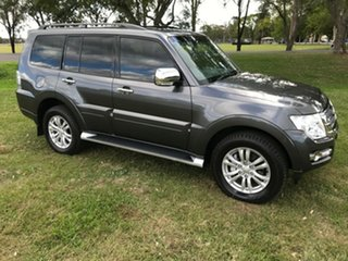 2017 Mitsubishi Pajero NX MY17 GLX LWB (4x4) Grey 5 Speed Auto Sports Mode Wagon