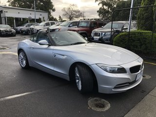 2009 BMW Z4 E89 sDrive23i Steptronic Silver 6 Speed Sports Automatic Roadster