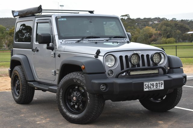 Used Jeep Wrangler JK MY2014 Sport, 2014 Jeep Wrangler JK MY2014 Sport Grey 6 Speed Manual Softtop