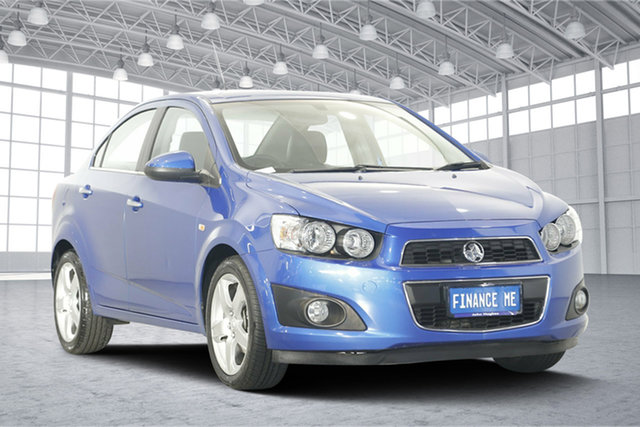 Used Holden Barina TM MY15 CDX, 2015 Holden Barina TM MY15 CDX Blue 6 Speed Automatic Sedan