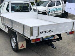 2008 Mitsubishi Triton ML MY08 GL 4x2 White 5 Speed Manual Cab Chassis