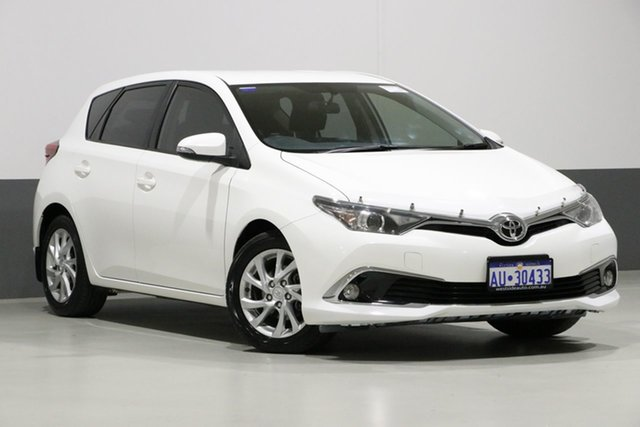 Used Toyota Corolla ZRE182R MY15 Ascent Sport, 2016 Toyota Corolla ZRE182R MY15 Ascent Sport White 7 Speed CVT Auto Sequential Hatchback