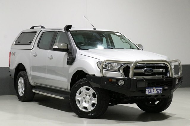 Used Ford Ranger PX MkII MY18 XLT 3.2 (4x4), 2017 Ford Ranger PX MkII MY18 XLT 3.2 (4x4) Grey 6 Speed Automatic Dual Cab Utility