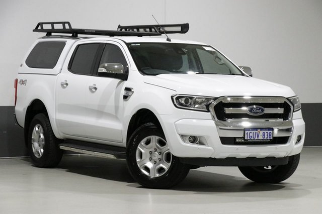 Used Ford Ranger PX MkII MY17 Update XLT 3.2 (4x4), 2017 Ford Ranger PX MkII MY17 Update XLT 3.2 (4x4) White 6 Speed Automatic Dual Cab Utility