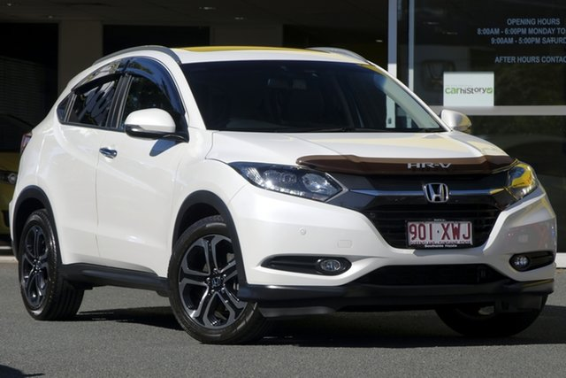Used Honda HR-V MY17 VTi-L, 2017 Honda HR-V MY17 VTi-L White Orchid 1 Speed Constant Variable Hatchback