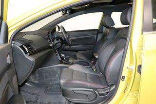 2017 Hyundai Elantra AD SR Turbo Blazing Yellow 7 Speed Auto Dual Clutch Sedan