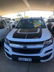 2017 Holden Colorado RG MY17 Z71 (4x4) Summit White 6 Speed Automatic Crew Cab Pickup