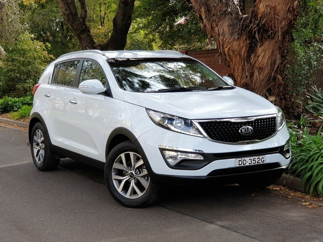 Used Kia Sportage SL MY14 Si 2WD Premium, 2015 Kia Sportage SL MY14 Si 2WD Premium White 6 Speed Sports Automatic Wagon