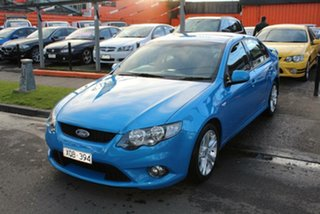 2009 Ford Falcon FG XR6 Blue 6 Speed Auto Seq Sportshift Sedan.