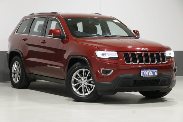 Used Jeep Grand Cherokee WK MY15 Laredo (4x4), 2016 Jeep Grand Cherokee WK MY15 Laredo (4x4) Red 8 Speed Automatic Wagon