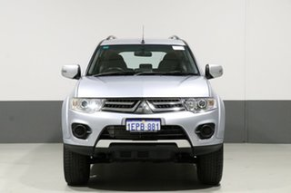 2014 Mitsubishi Challenger PC MY14 (4x4) Silver 5 Speed Manual Wagon.