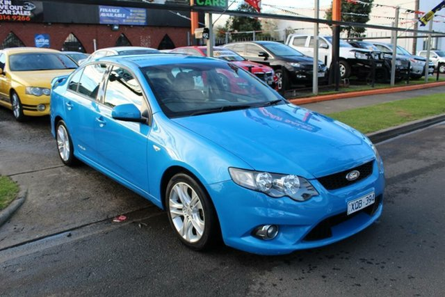 Used Ford Falcon FG XR6, 2009 Ford Falcon FG XR6 Blue 6 Speed Auto Seq Sportshift Sedan