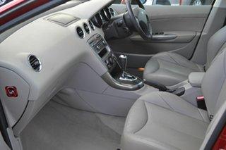 2008 Peugeot 308 XTE Turbo Maroon 4 Speed Automatic Hatchback