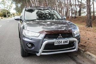 2011 Mitsubishi Outlander ZH MY11 VR-X Grey 6 Speed Sports Automatic Wagon.