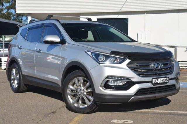 Used Hyundai Santa Fe DM3 MY17 Elite, 2016 Hyundai Santa Fe DM3 MY17 Elite Silver 6 Speed Sports Automatic Wagon