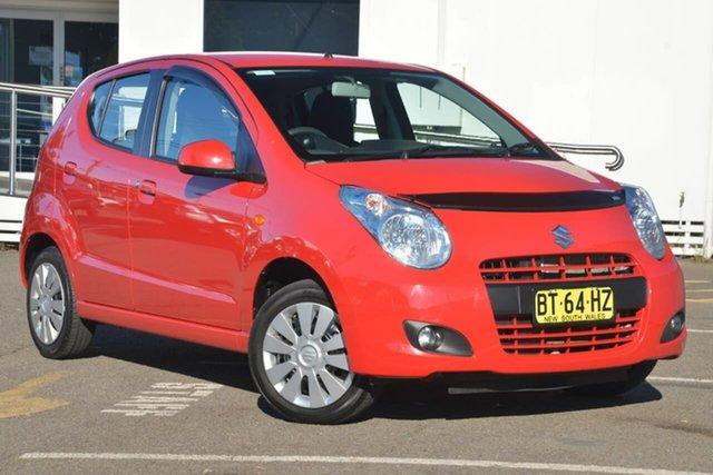 Used Suzuki Alto GF GL, 2012 Suzuki Alto GF GL Red 4 Speed Automatic Hatchback