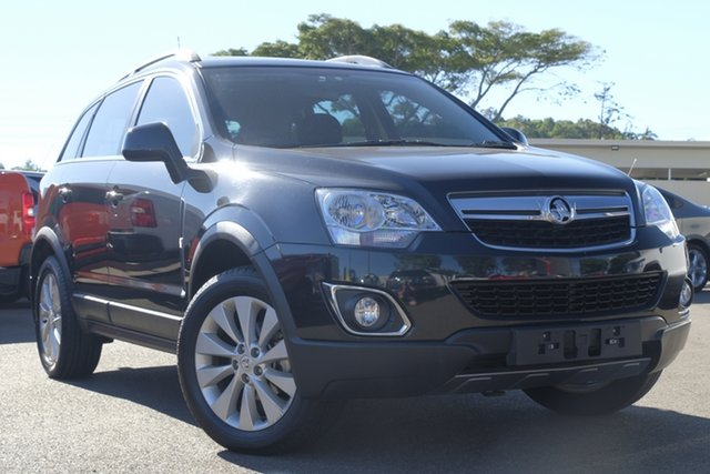 Used Holden Captiva CG MY15 5 LT, 2014 Holden Captiva CG MY15 5 LT Black 6 Speed Sports Automatic Wagon