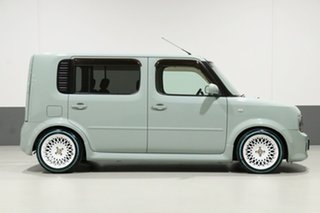 2005 Nissan Cube BZ11 Green 4 Speed Automatic Wagon