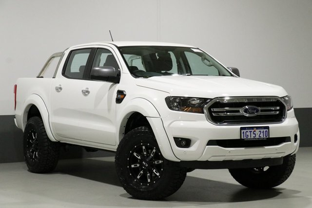 Used Ford Ranger PX MkIII MY19 XLS 3.2 (4x4), 2019 Ford Ranger PX MkIII MY19 XLS 3.2 (4x4) White 6 Speed Automatic Double Cab Pickup