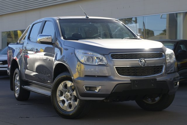 Used Holden Colorado RG MY14 LTZ Crew Cab, 2014 Holden Colorado RG MY14 LTZ Crew Cab Grey 6 Speed Sports Automatic Utility